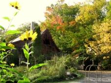 La Maison d'Évelyne fin septembre