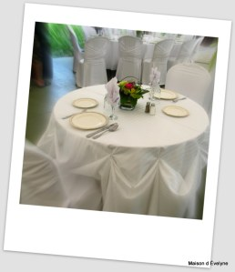 Table d'honneur pour 2