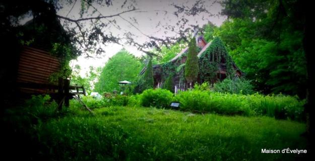 La maison un jour de pluie d'été