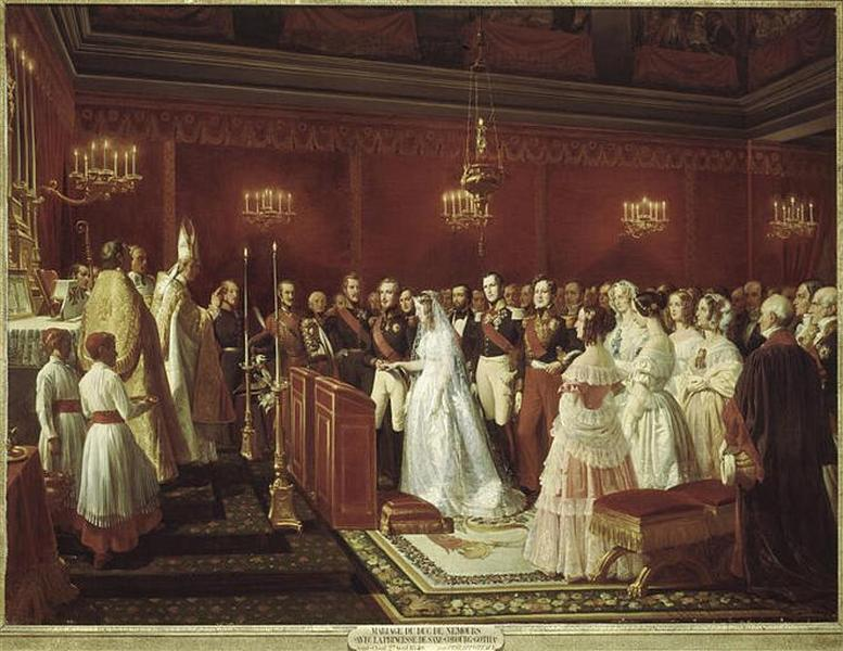 Robe blanche de mariage origine
