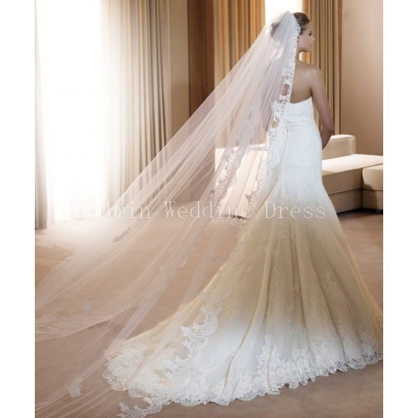 Traine wedding dress
