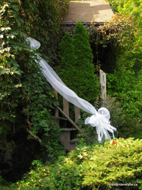 Theme noeud papillon maison d 39 evelyne for Au jardin wedding
