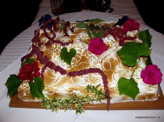 Le gâteau pour cette soirée