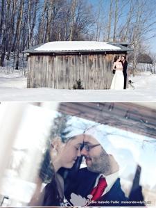 Mariage Marie-Pier et David à la Maison d'Évelyne