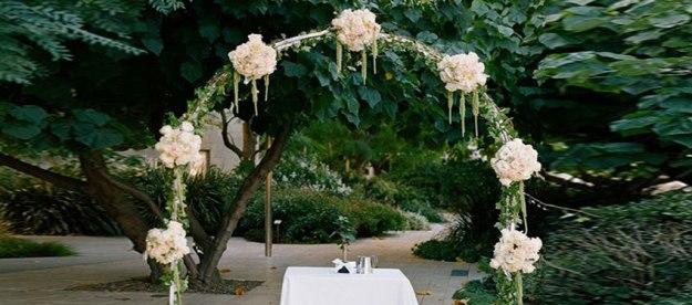 L'arche dans un mariage  Crédit photo:  Agathia Célébrante