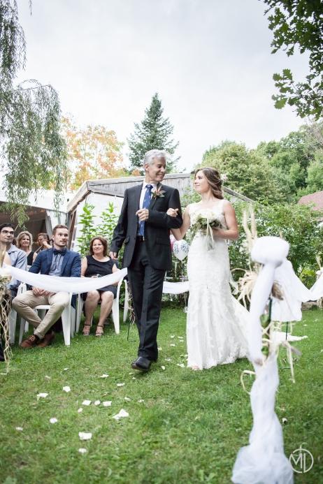 Mariage d'Anais et Mathieu Photo Marie Deschenes